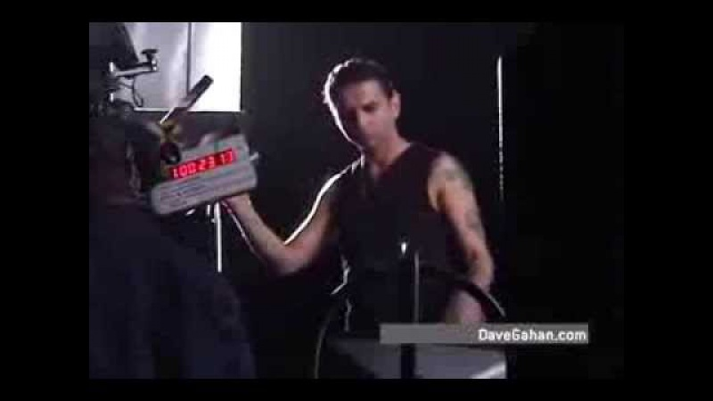 Dave Gahan Dirty Sticky Floors Behind The Scenes