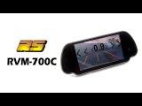RS RVM-700C зеркало с камерой заднего вида видео обзор 130.com.ua