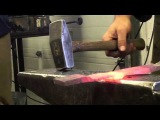 Forging an Axe with Steve Ash at NESM