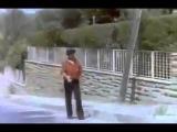 И снова турецкое кино, сцена наезда на пешехода..