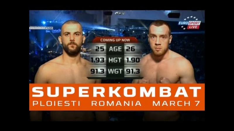 Cosmin Ionescu vs. Ibrahim Giydirir - SUPERKOMBAT | WGP | Ploiesti | March 7