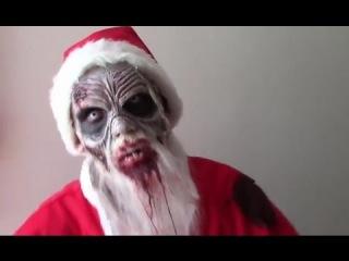 Ужасный Розыгрыш - Страшный Зомби Санта - Клаус ...) }:)