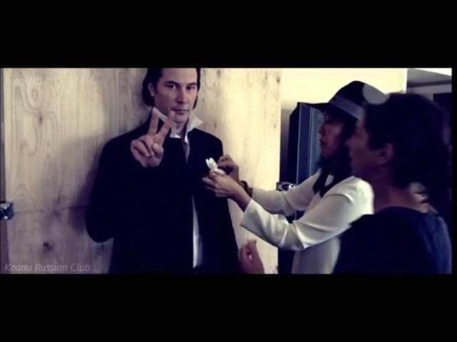 2013 Keanu Reeves - Harpers Bazaar Behind the Scenes