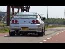 565HP Nissan Skyline GTR R33 V-Spec - Anti-Lag Sound!