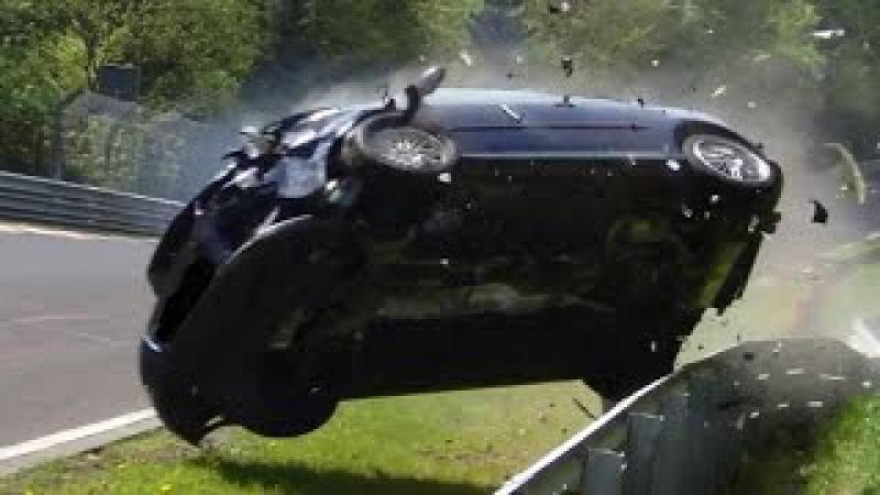 Nordschleife 2014 Big Crash Fail Compilation Nürburgring Touristenfahrten VLN 24H Rallye