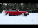 Bmw e36 1.6 snow drift