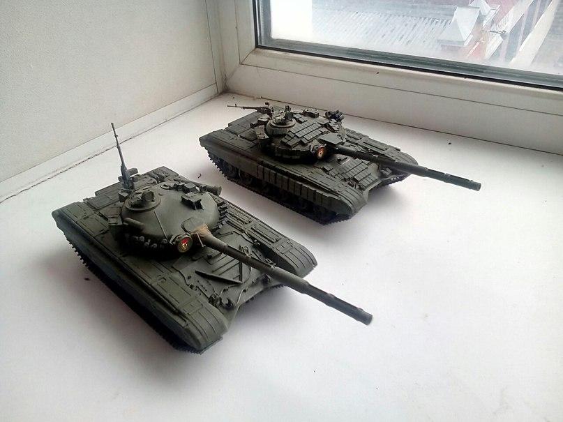Танки Т-72, 1/35 звезда. Zcq7GyQqRYk