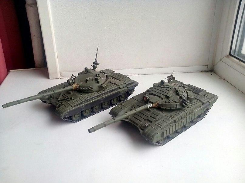 Танки Т-72, 1/35 звезда. HVQgbuxo-sc