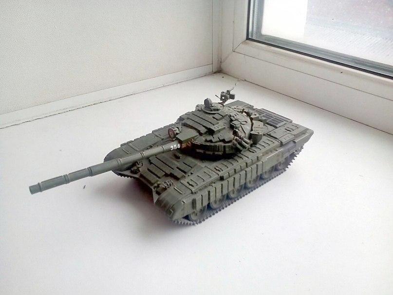 Танки Т-72, 1/35 звезда. 0teP0YhUlE4