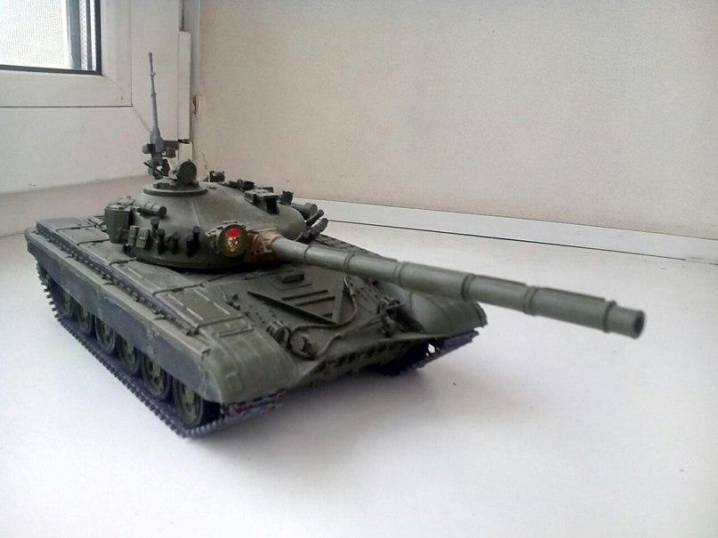 Танки Т-72, 1/35 звезда. HVXQQlniutE