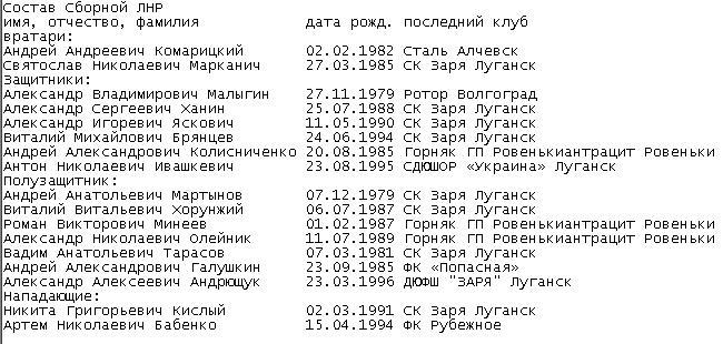 Краматорский «Авангард» подписал игрока, сыгравшего в марте за сборную ЛНР против Абхазии