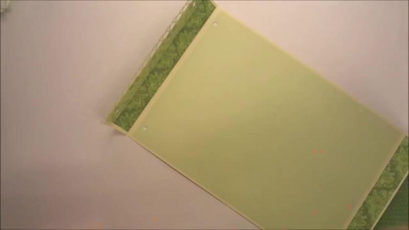 Альбом из конвертов - Скрапбукинг мастер-класс _ Aida Handmade » Freewka.com - Смотреть онлайн в хорощем качестве