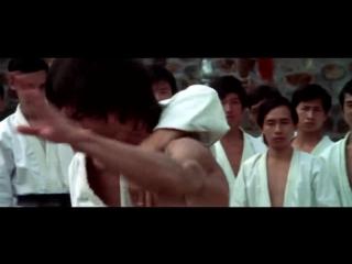 Скорость удара рукой у Брюса Ли