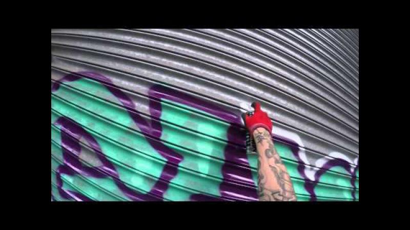 Graffiti - Ghost EA - Abandoned Shadow Factory Part 1