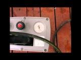 Испытание высоким давлением трубы для отопления из сшитого полиэтилена UPONOR WIRSBO-PEX