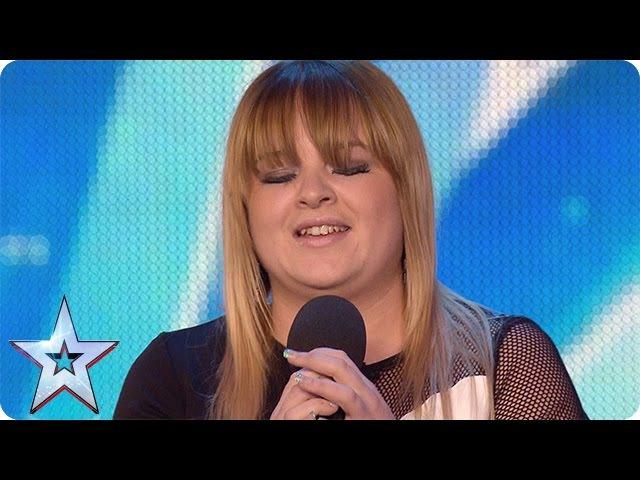 Pub singer Jade Scott gets off to a shaky start | Audition Week 1 | Britains Got Talent 2015