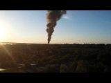 Пожар на нефтебазе БРСМ Васильков