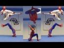 🕷️SPIDERMAN TAEKWONDO TRAINING Flips Kicks