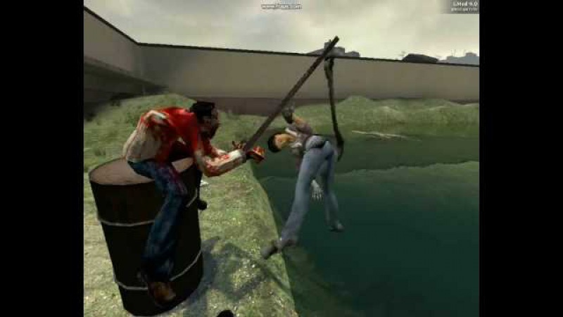 Half Life 2 Gmod камеди клаб Наша Таня Громко Плачет