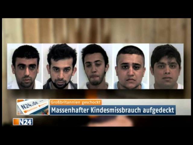 Moslems vergewaltigen 1400 weiße Kinder in einer Stadt! ELTERN werden als Rassisten beschimpft!