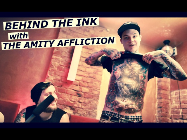 THE AMITY AFFLICTION Behind The Ink with Ahren Stringer and Ryan Burt Tattoo Talk