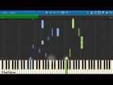 MBAND - Посмотри на меня (пример игры на фортепиано) piano cover