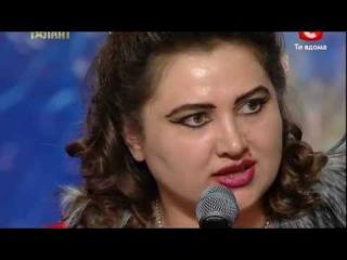 Татьяна Пушина / Харьков / Украина мае талант 4