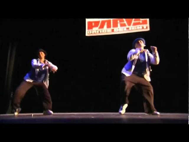 Lady Del Lil Kiss : amazing locking dance style !