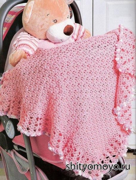 Varios modelos de mantas a crochet para bebes con patrones - Como tejer mantas al crochet ...