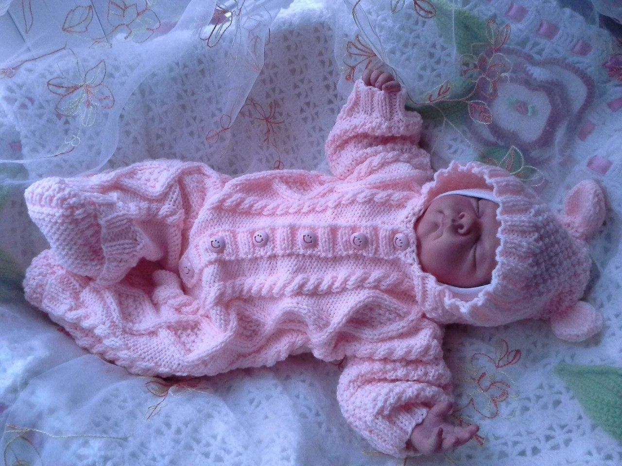 Вязать Новорожденному На Выписку - elaginjenek
