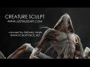 Creature Sculpt Concept by Anthony Jones