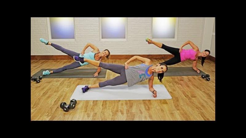 Autumn Calabrese - Full-Body Workout: Fast and Furious Calorie Burn | Отумн Калабрес - Тренировка всего тела