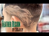 Feather HairCut Design by 360Jeezy HD