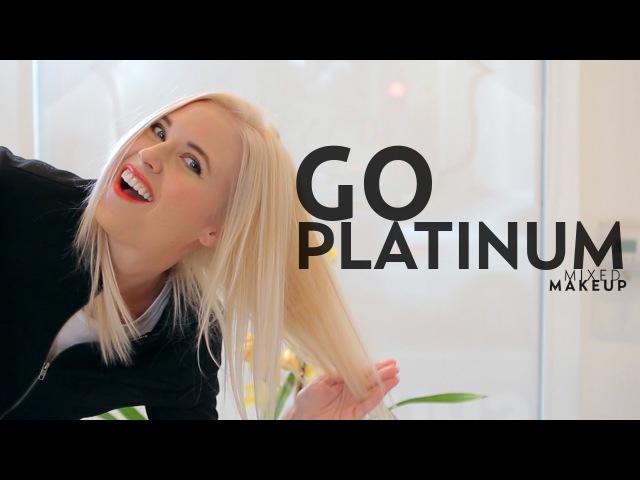 Go Platinum Blond Without Bleach | Mixed Makeup