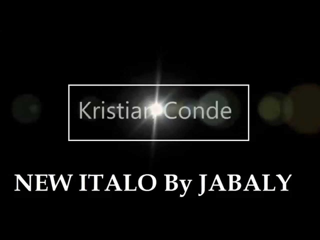 Kristian Conde come back BY JABALY RECORDS