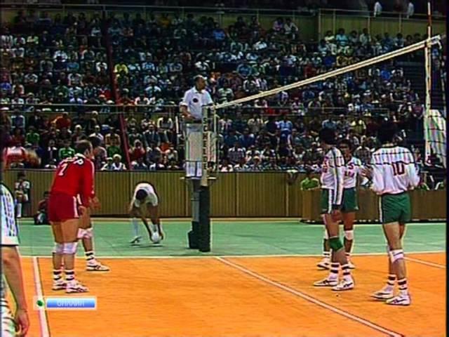 Олимпиада - 80. Финал. Мужчины. СССР - Болгария. Olympics - 80. Final. Men. USSR - Bulgaria