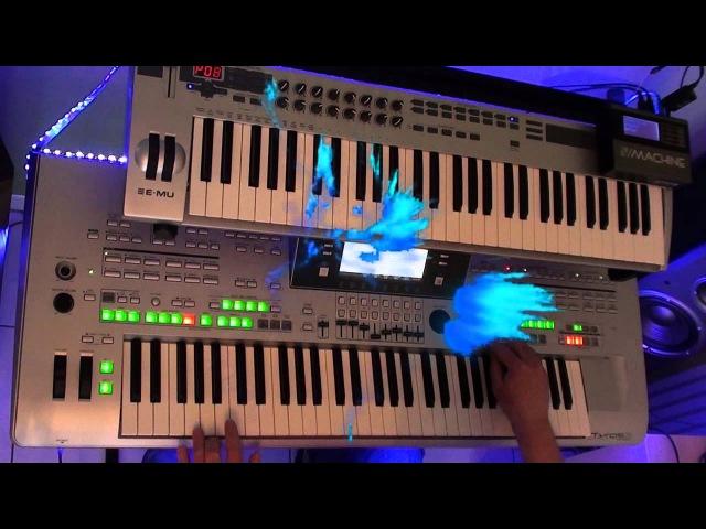 Crockett's theme - Jan Hammer (miami vice) played on Tyros 3
