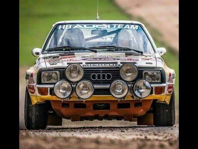 Audi Quattro Sport S1 E2 Rally Group B Total Tribute