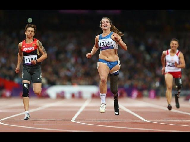 Athletics Women's 100m T42 Final London 2012 Paralympic Games