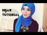 Hijab Tutorial l Jersey scarf