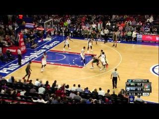 [HD] Milwaukee Bucks vs Philadelphia 76ers | Full Highlights | April 13, 2015 | NBA Season 2014/15