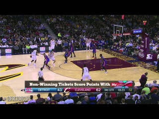 LeBron James Full Triple-Double Highlights vs Pistons () - 21 Pts, 11 Ast, 10 Reb