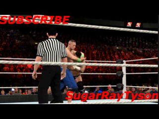 WWE 2K15 PS4 GAMEPLAY - JOHN CENA VS CM PUNK