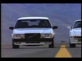 Volvo 740 Turbo Intercooler Wagon Ad (1987) -  To A Radar Gun They Look Exactly Alike