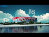 Бетонные заводы МЕКА на строительстве стадионов к Чемпионату Мира по футболу - 2018
