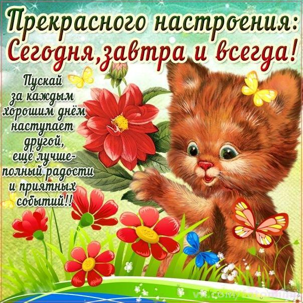 С хорошими пожеланиями открытки