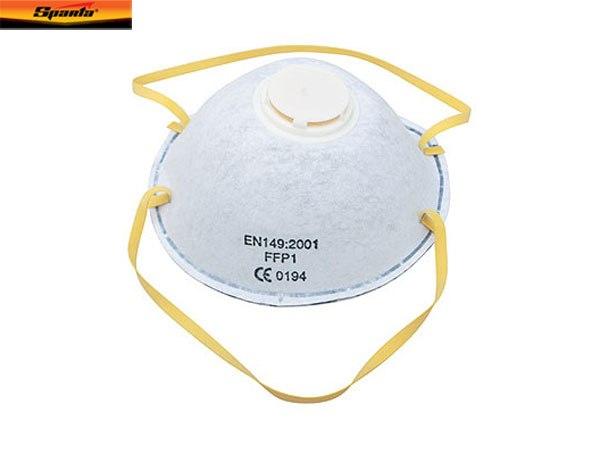 Респиратор с клапаном, фильтр с активированным углем   SPARTA