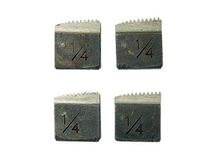 Резцы для клуппов, 4 шт.   SPARTA