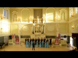 """Камерный хор """"Петербургские серенады"""" - «Гопак» (из оперы «Сорочинская ярмарка»)"""