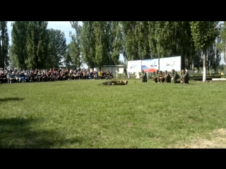 ВУНЦ ВВС ВВА показательное выступление. Абитура 2015